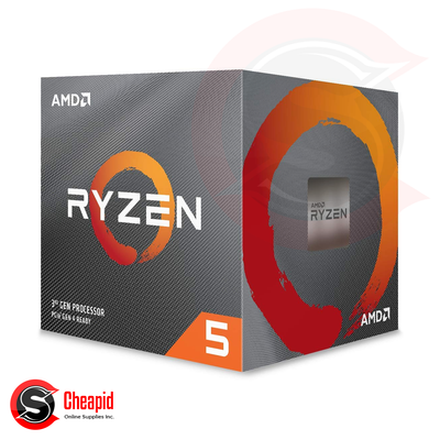AMD 3rd Gen Ryzen 5 3500 3.6GHz Socket AM4 Hexa Core Processor