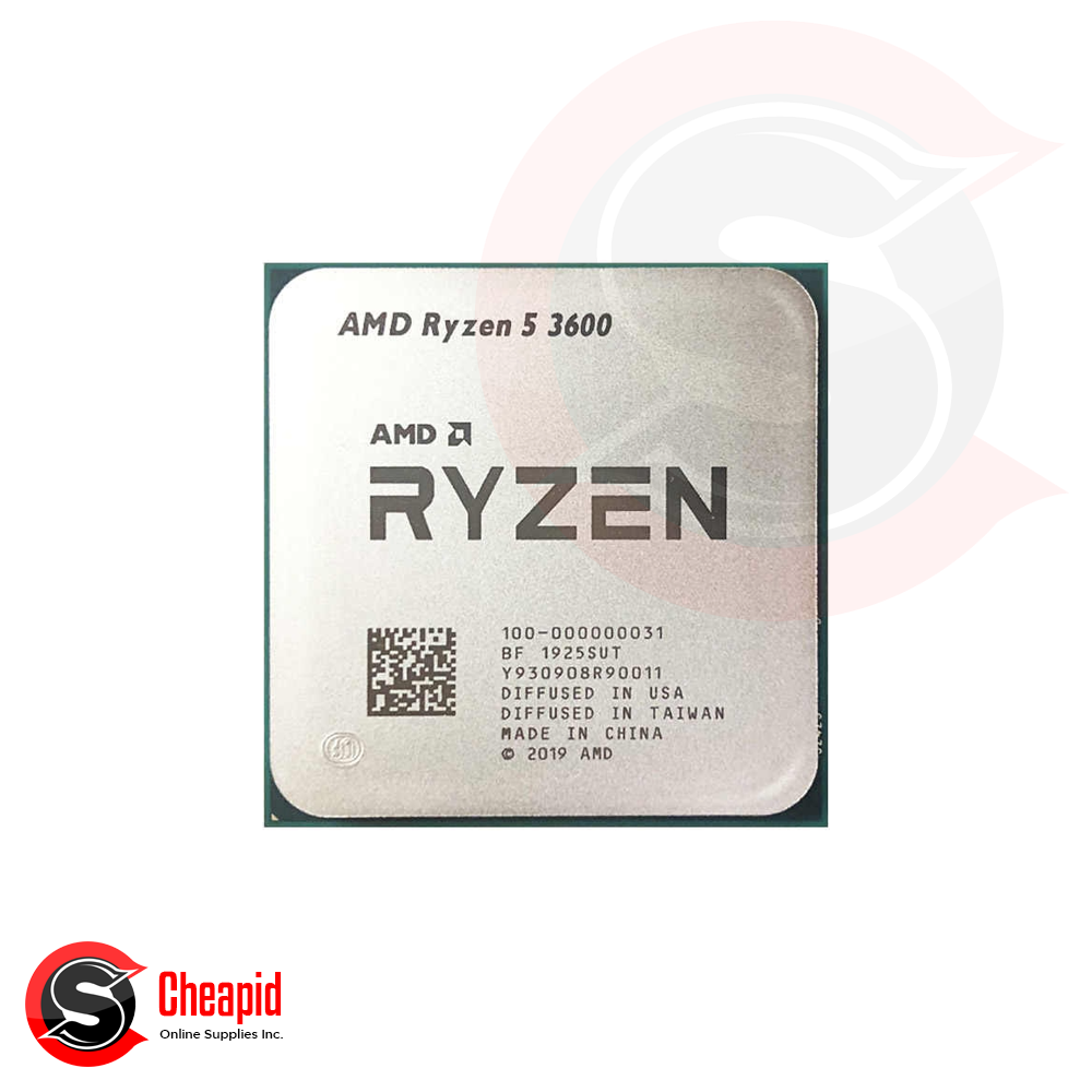 AMD 3rd Gen Ryzen 5 3600 3.6GHz Socket AM4 Hexa Core Processor