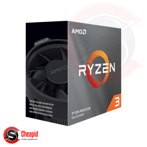 AMD Ryzen 3 3100 3.6GHz Socket AM4 Quad Core Processor