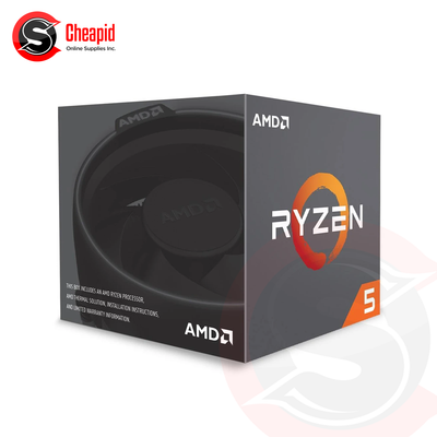 AMD Ryzen 5 2600 3.4GHz Socket AM4 Hexa Core Processor