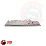 Badwolf BK800 White Gaming USB Keyboard