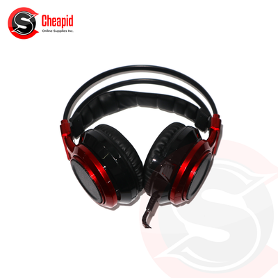 Badwolf F45 Red with Vibration Headset