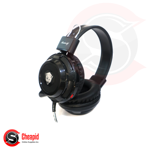 Badwolf V8 Gaming Black Headset
