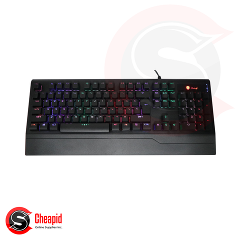 Badwolf X5000 Black Gaming USB Keyboard