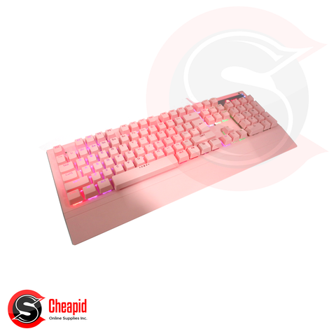 Badwolf X5000 Pink Gaming USB Keyboard