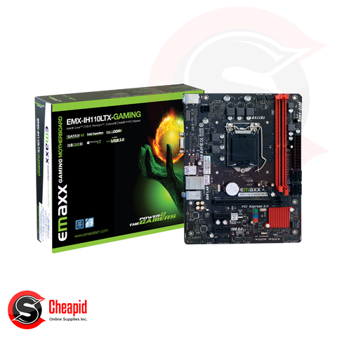 Emaxx EMX-IH110LTx+Gaming Socket 1151 DDR4 Motherboard
