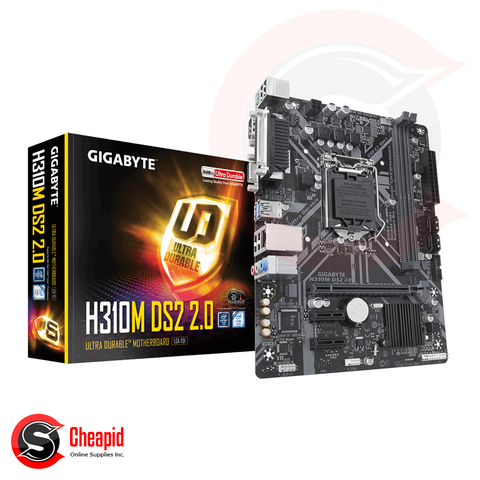 Gigabyte H310M DS2 2.0 Socket 1151 DDR4 Motherboard
