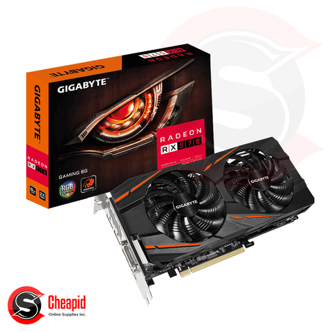 Gigabyte Radeon RX 570 Gaming 8GB GDDR5 256bit Video Card (GV-RX570GAMING-8GD)