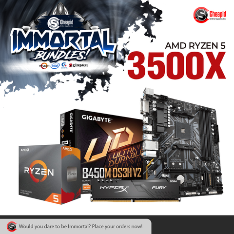 Immortal Bundle - AMD Ryzen 5 3500X
