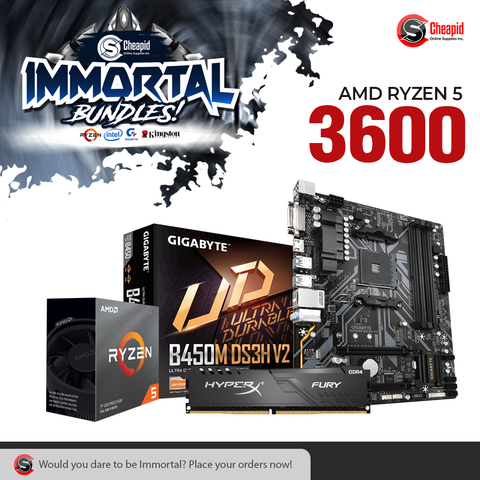 Immortal Bundle - AMD Ryzen 5 3600