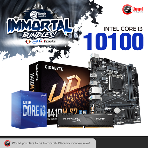 Immortal Bundle - Intel Core i3-10100