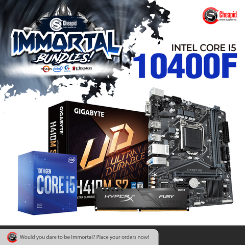 Immortal Bundle - Intel Core i5-10400F