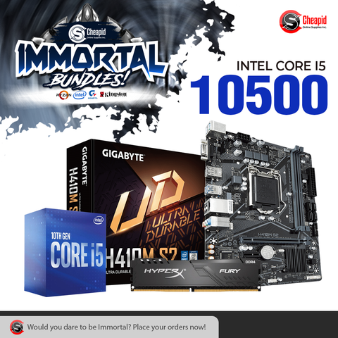 Immortal Bundle - Intel Core i5-10500