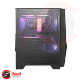 MSI MAG Forge 100R Mid-Tower Tempered Gaming Casing