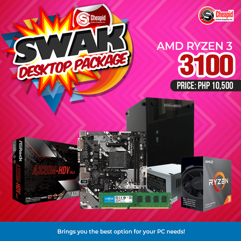 Swak Desktop Package - AMD Ryzen 3 3100