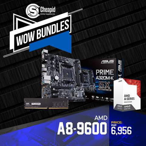 WOW Bundles - AMD A8-9600 7th Gen