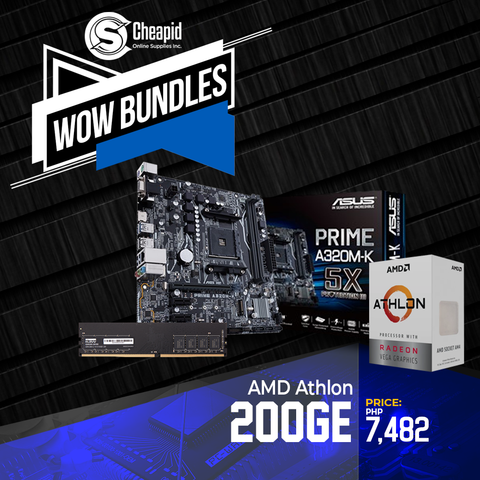WOW Bundles - AMD Athlon 200GE