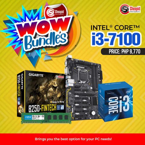 WOW Bundles - Intel Core i3-7100