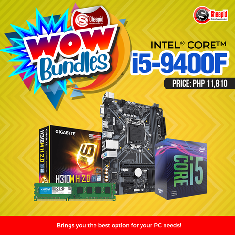 WOW Bundles - Intel Core i5-9400F