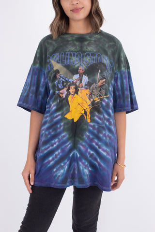 1999 The Rolling Stones 'No Security' Tour Tie Dye T-shirt - Size XL