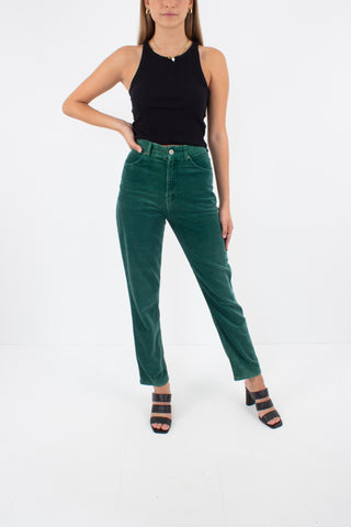 "Green Lee Jeans - High Waist - Size 24"" / XS / AU 6"