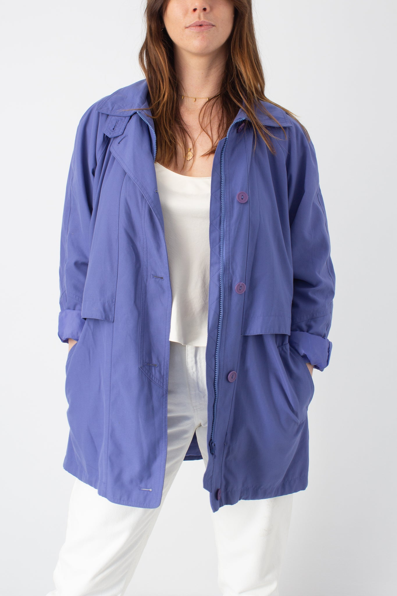 Lilac Hooded Jacket - Size XS/S/M/L
