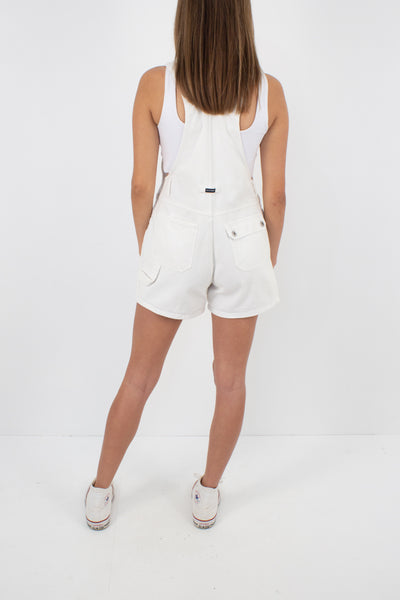 White Denim Overalls - Size XS/S