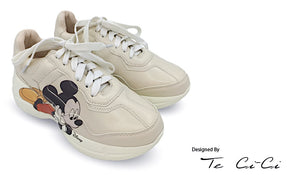 Mickey Inspired Platform Sneakers