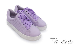 Pastel Color Platform Sneakers