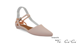 Pointed Toe Jelly Flats