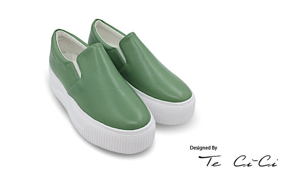 Shortcake Inspired Colourful Platform Slip On