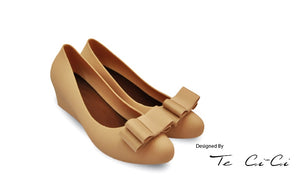 Jelly Wedges with Flat Bow