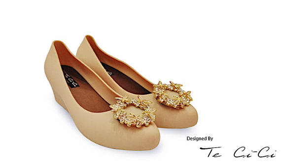Queen Crowned Inspired Jelly Shoes