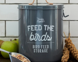 'Feed the Birds' Bird Food Tin