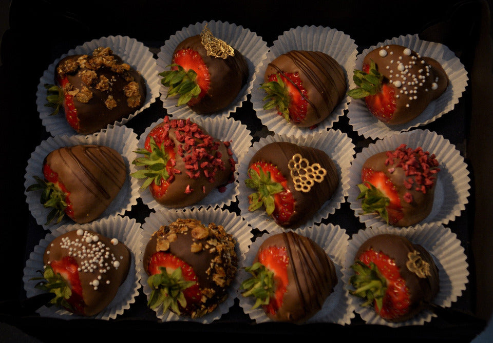 Vegan Chocolate Covered Strawberries Sweeter Than Roses