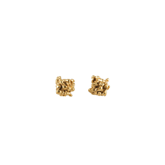 ENCRUSTED <p>little gold studs</p>
