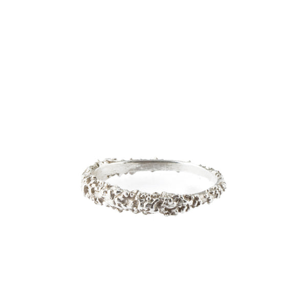 BARNACLE silver stacking ring
