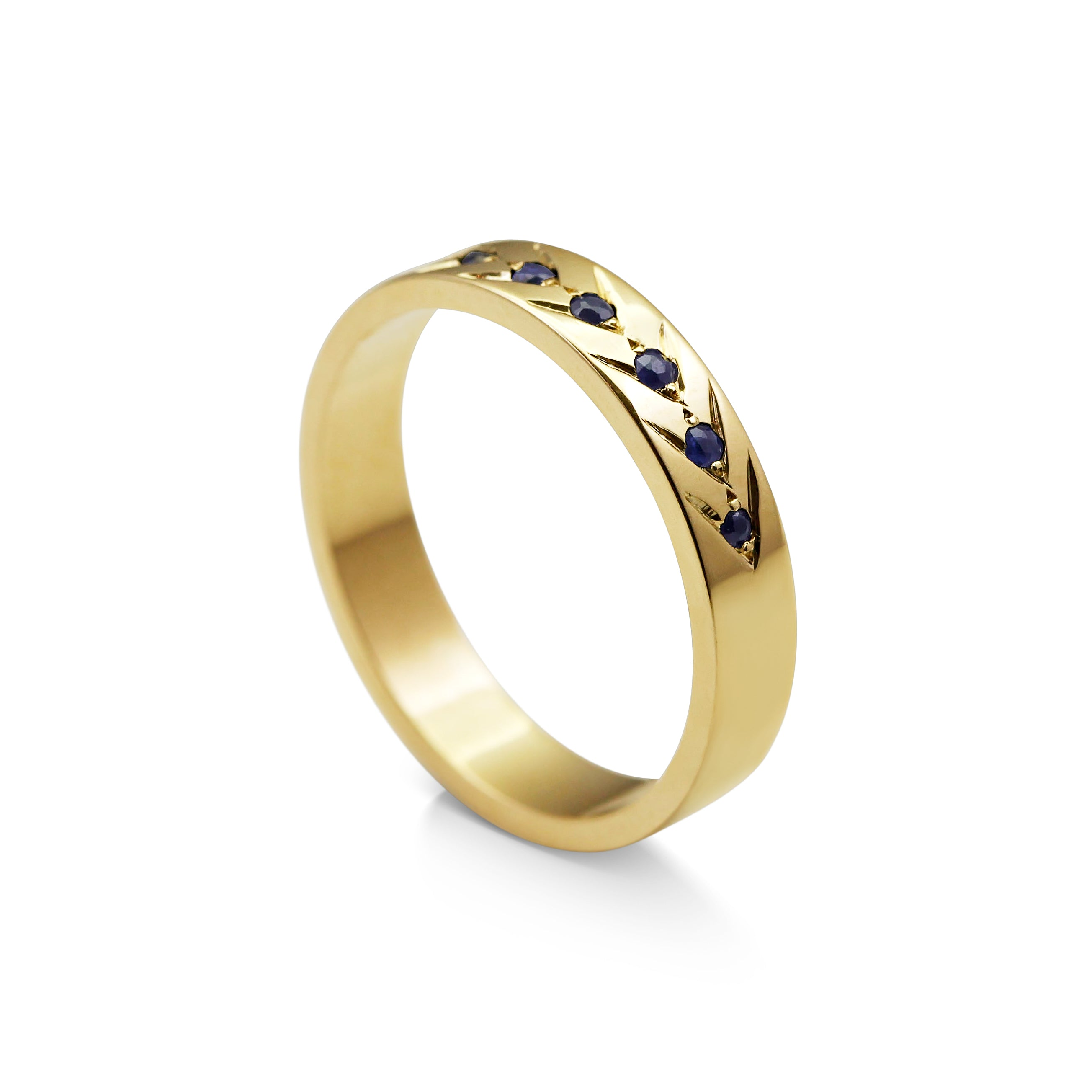 his celtic two hers colour p patterned gold wedding rings