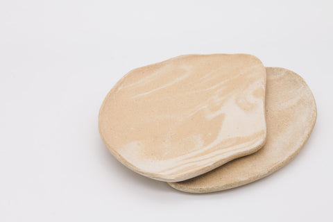 Hadley Ceramics x Michelle Oh Ring Dish - Oatmeal