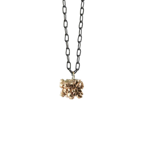 MATTER gold pendant necklace