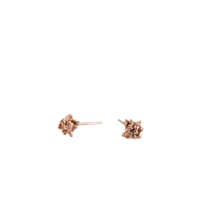ENCRUSTED <p>little rose gold studs</p>