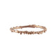 ENCRUSTED rose gold stacking ring