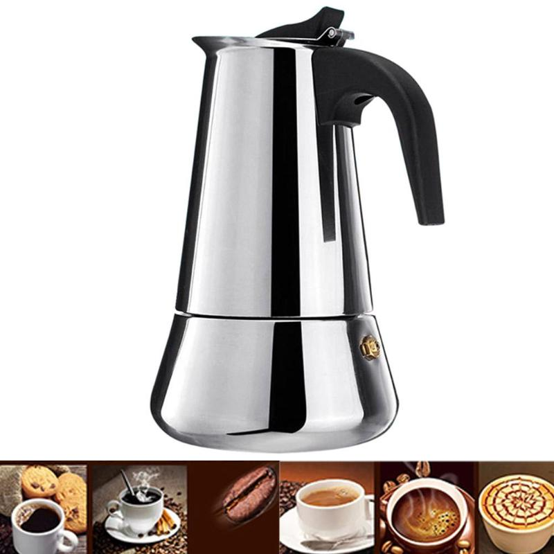 Coffee Makers Italian Top Moka Espresso Cafeteira - The Coffee Cache
