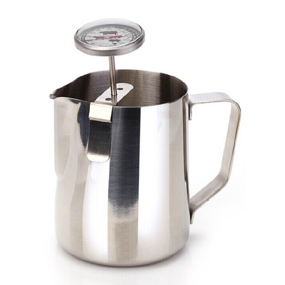 Stainless Steel Coffee Milk Thermometer Espresso - The Coffee Cache