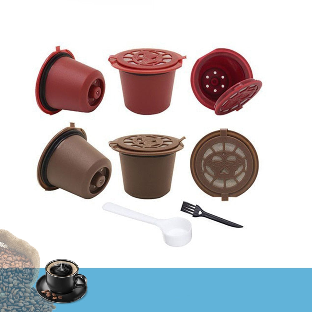 Reusable Coffee and Tea Capsule Filters 4PCS 20ml - The Coffee Cache