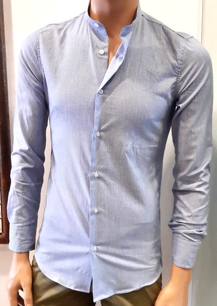 CAMICIA COLLO COREANA SLIM FIT