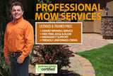 LICENSED & TRAINED PROS  » AWARD WINNING SERVICE  » FREE TRIM, EDGE & BLOW  » EMERGENCY SUPPORT  » FRIENDLY UNIFORMED CREWS