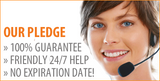 100% GUARANTEE & FRIENDLY 24/7 HELP & NO EXPIRATION DATE!