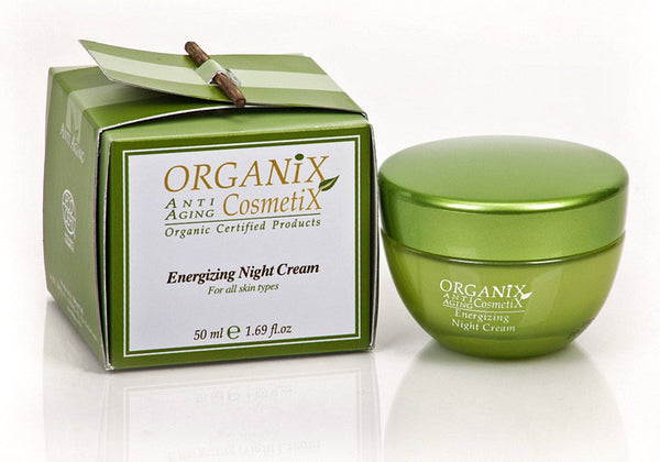Anti-Aging Energizing Night Cream 1.69 Fl oz - JBORGANICS