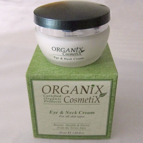 Eye and Neck Cream For All Skin Types - JBORGANICS